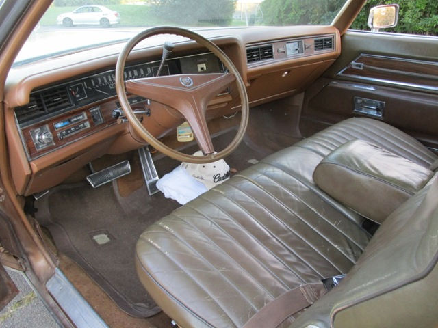 Seller of classic cars 1972 cadillac eldorado cognac antique dark saddle for 1972 cadillac eldorado interior