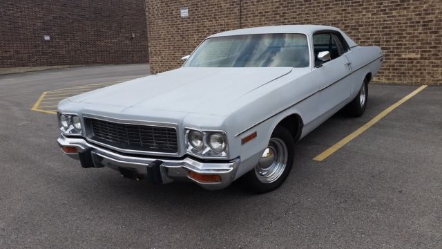 1973 Dodge Polara (Gray/Green)