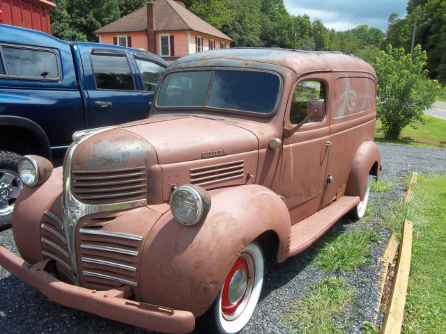 Seller Of Classic Cars 1946 Dodge Panel Truck
