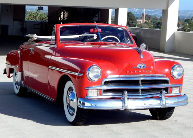 1950 Plymouth Seats : Seller of classic cars plymouth special deluxe red