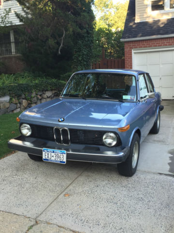 Seller Of Classic Cars 1976 Bmw 2002 Blue Black