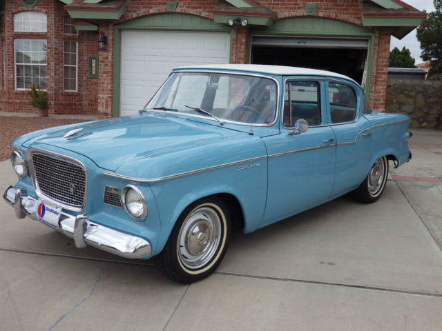 1959 Studebaker SEDAN (BAHAMA BLUE/Gray)