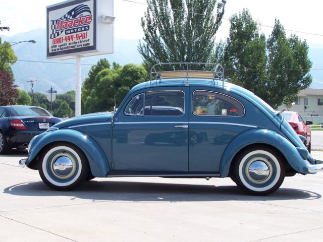 Seller Of Classic Cars 1958 Volkswagen Beetle Classic