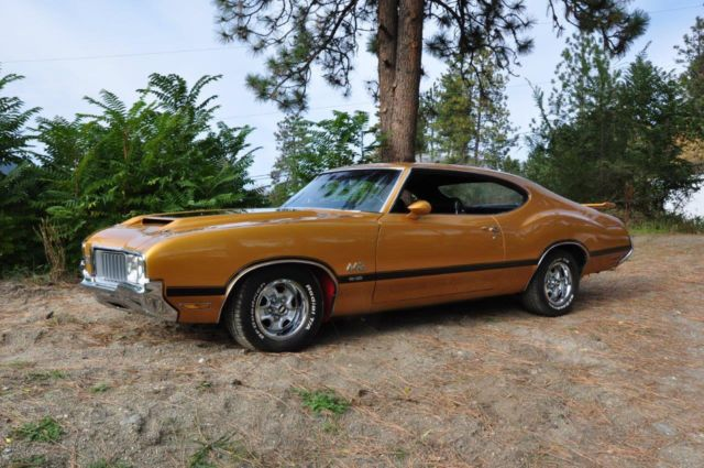 Seller Of Classic Cars 1970 Oldsmobile 442 Nugget Gold
