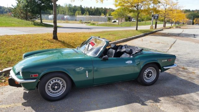1972 Triumph Spitfire (british racing Green/Black)