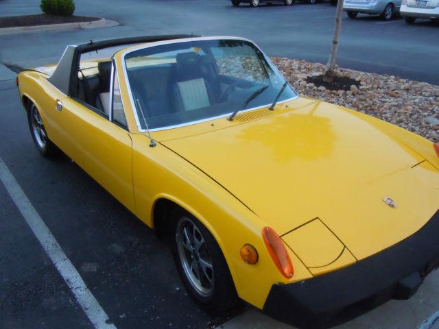 Seller Of Classic Cars 1976 Porsche 914 Sunflower Yellow Black