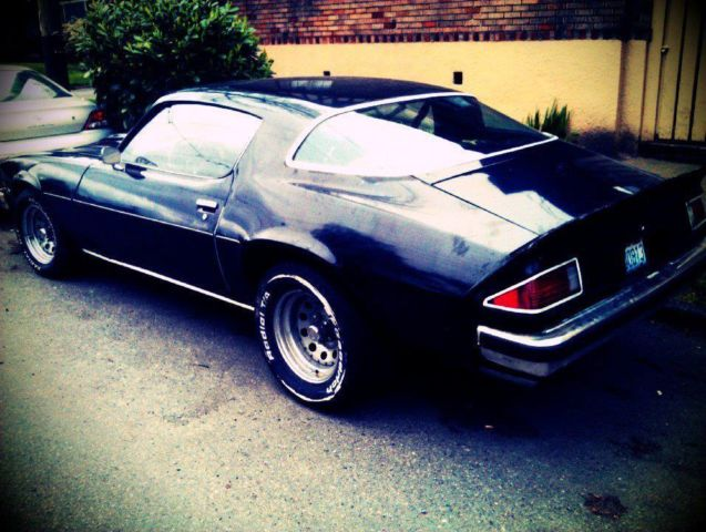 Seller of Classic Cars - 1977 Chevrolet Camaro (Black/Black)