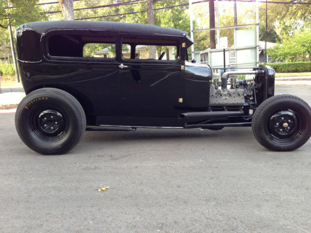 Seller Of Classic Cars 1928 Ford Model A Black Black