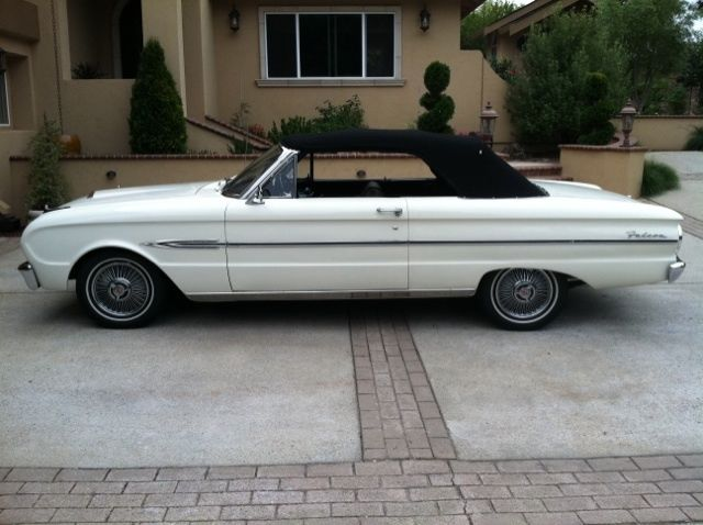 Seller Of Classic Cars 1963 Ford Falcon White Black