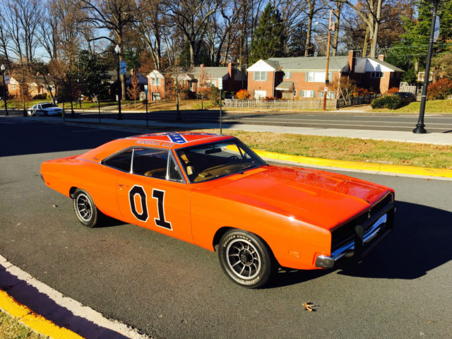 Seller Of Classic Cars 1969 Dodge Charger Hemi Orange Tan