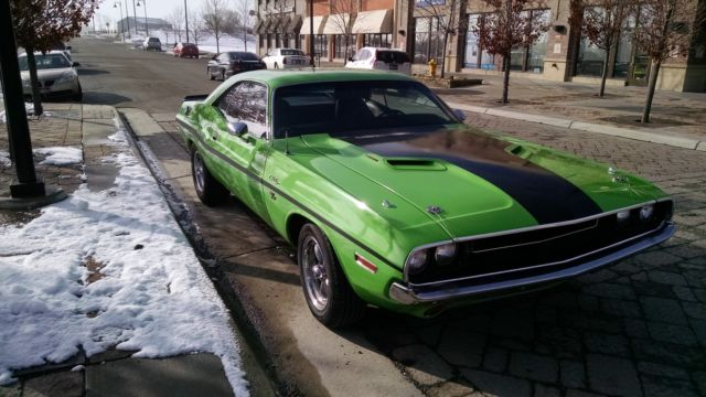 Seller Of Classic Cars 1970 Dodge Challenger Greenblack