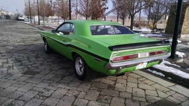 Seller Of Classic Cars 1970 Dodge Challenger Green Black