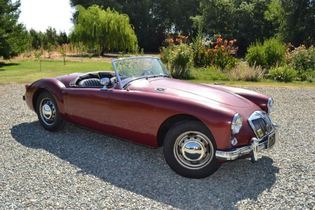 1958 MG MGA (Oxblood/Black)