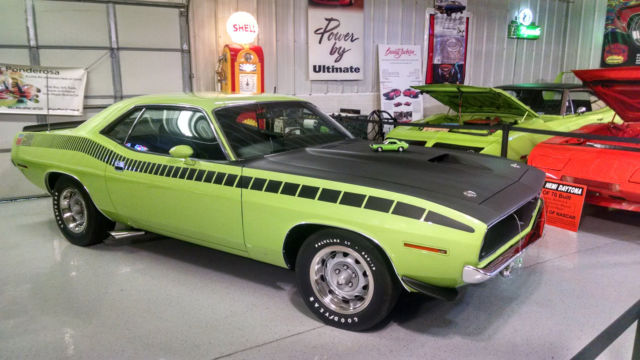 1970 Superbird For Sale >> Seller of Classic Cars - 1970 Plymouth Barracuda (SUBLIME, limelight/Black)