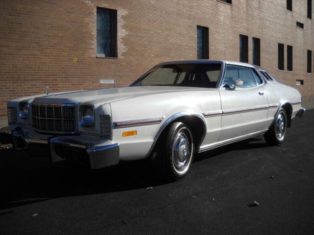 Seller Of Classic Cars 1976 Ford Torino White Burgundy