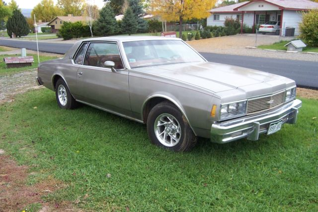Used 2014 Chevy Impala >> Seller of Classic Cars - 1979 Chevrolet Impala (Sliver ...