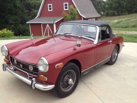 1974 MG Midget (Red/Black)