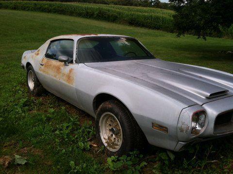 Seller of Classic Cars - 1970 Pontiac Firebird (GREY/Oyster)