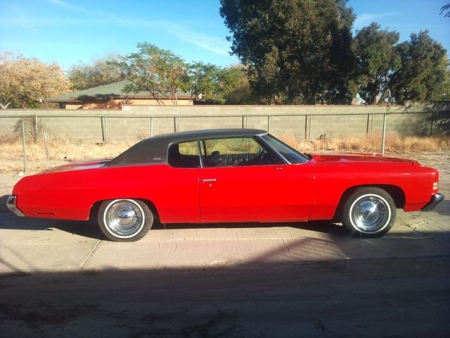 seller of classic cars 1972 chevrolet impala red black. Black Bedroom Furniture Sets. Home Design Ideas
