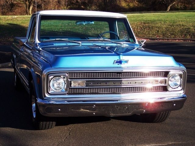 Seller Of Classic Cars 1970 Chevrolet C 10 Blue Blue