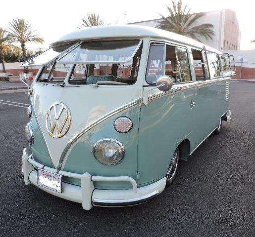 1963 Volkswagen Bus/Vanagon (BLUE