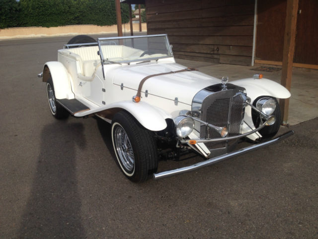 Seller of classic cars 1972 replica kit makes 1929 for Classic mercedes benz for sale ebay