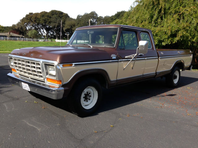 1979 Ford F-350 (Brown/Black)
