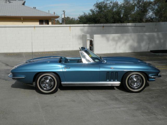 Seller Of Classic Cars 1966 Chevrolet Corvette Blue Blue