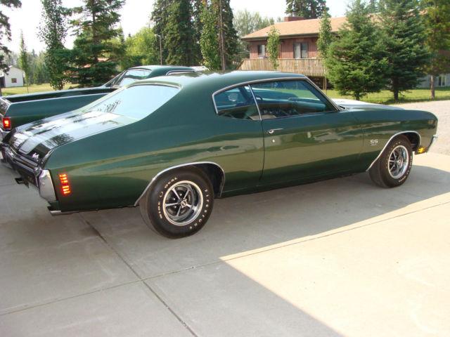 Seller Of Classic Cars 1970 Chevrolet Chevelle Green Green