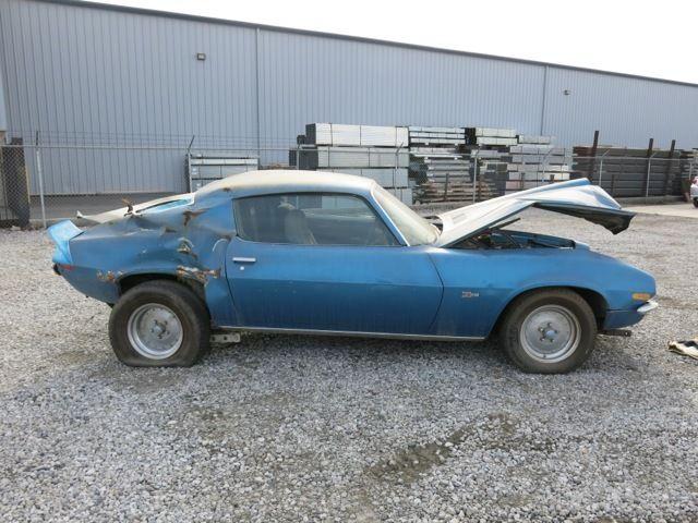 Seller Of Classic Cars 1971 Chevrolet Camaro Mulsanne Blue Standard Blue