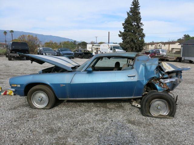 Seller of Classic Cars - 1971 Chevrolet Camaro (Mulsanne Blue/Standard Blue)