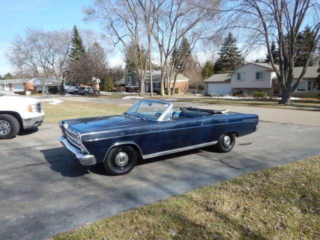 Seller Of Classic Cars 1966 Ford Fairlane Dark Blue Blue