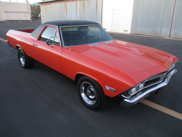 1968 Chevrolet El Camino (Orange/Black)