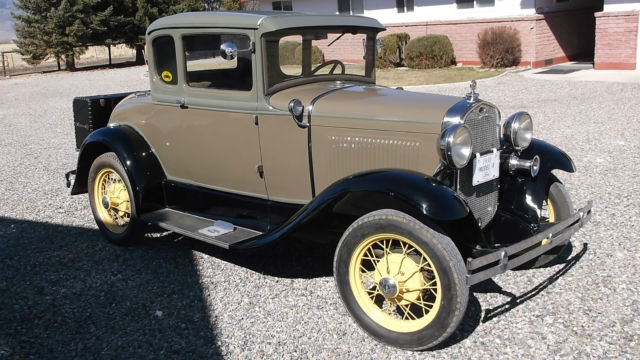 Seller Of Classic Cars 1930 Ford Model A Sand And Light