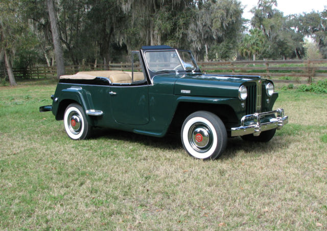 1949 Willys Jeepster (Green/Black)