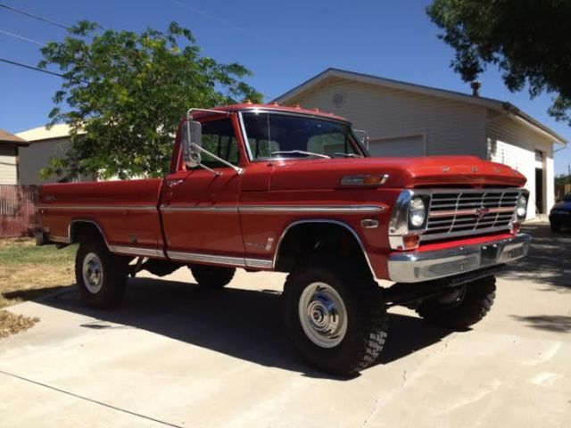 Austin Ford Dealers >> Seller of Classic Cars - 1969 Ford F-250 (Red/Red)