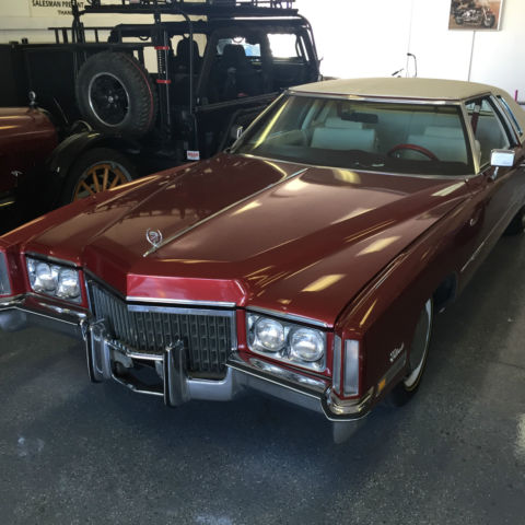 Seller of classic cars 1972 cadillac eldorado for 1972 cadillac eldorado interior