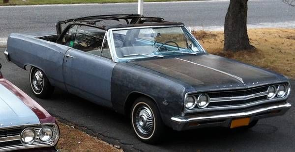 1965 Chevrolet Malibu (Black/Blue)