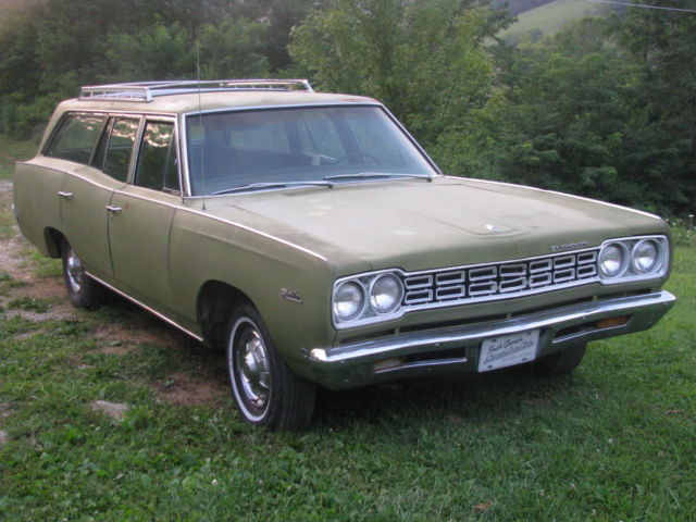 1968 Plymouth Satellite (Green/Green)
