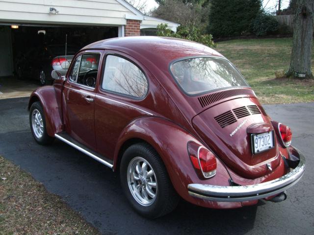 Seller Of Classic Cars 1970 Volkswagen Beetle Classic