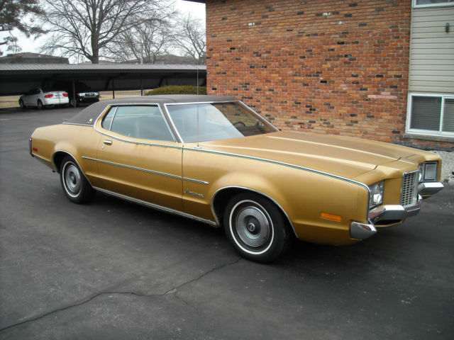 Best Buy Private Auction >> Seller of Classic Cars - 1972 Mercury Montego (Deep Blue/Black and Tan)