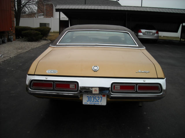 Best Buy Private Auction >> Seller of Classic Cars - 1972 Mercury Montego (Deep Blue ...