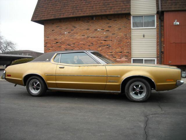 Seller Of Classic Cars 1972 Mercury Montego Deep Blue Black And Tan