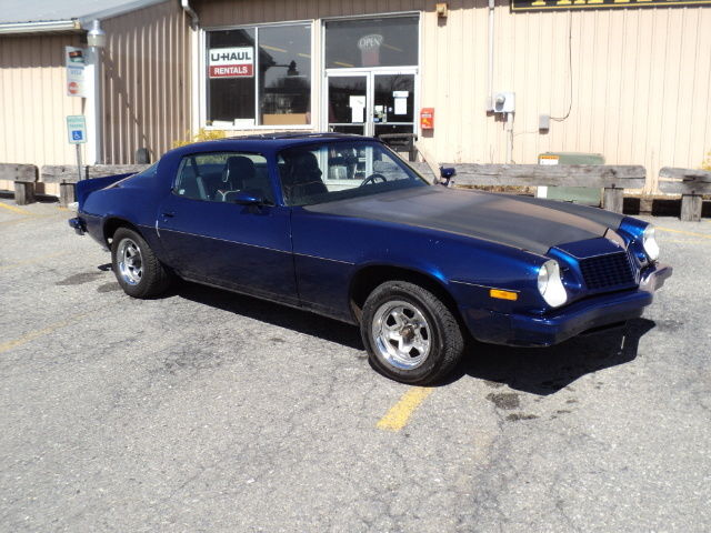 Seller of Classic Cars - 1976 Chevrolet Camaro (Deep Blue/Black and Tan)