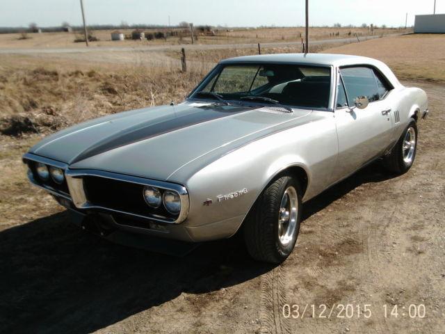 Seller Of Classic Cars 1967 Pontiac Firebird Silver Black