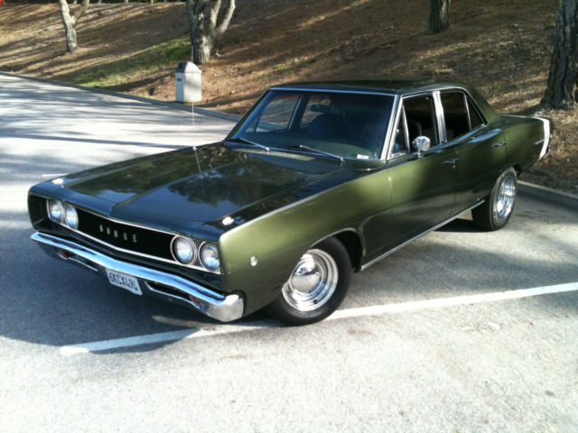 Seller Of Classic Cars 1968 Dodge Coronet F8 Green