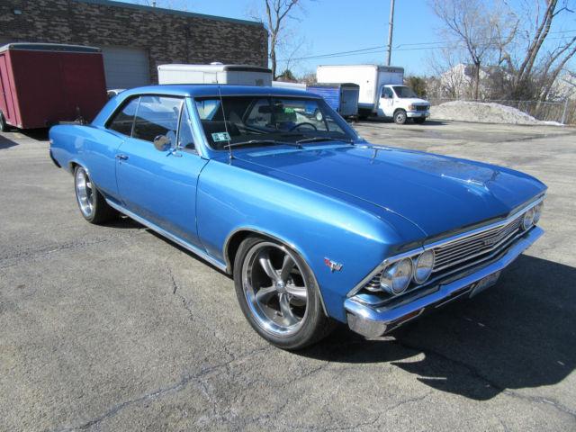 Seller Of Classic Cars 1966 Chevrolet Chevelle Marina Blue Black