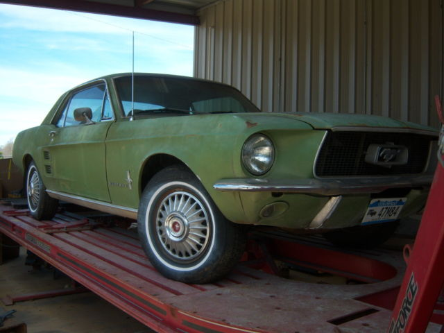 1967 Ford Mustang (Green/Green)
