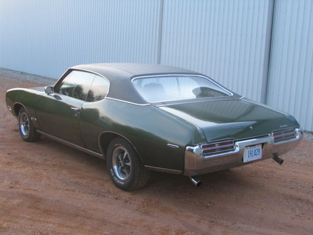 Seller Of Classic Cars 1969 Pontiac Gto Green Expresso
