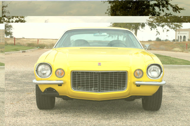 Seller Of Classic Cars 1971 Chevrolet Camaro Yellow Tan